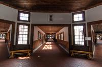 網走市 博物館網走監獄 舎房及び中央見張所 第三舎