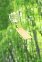 風鈴と竹林