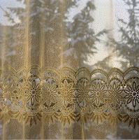 透明なカーテン