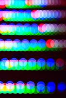 LED 光のリズム ボケ