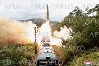 北朝鮮、列車から弾道ミサイル発射