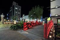 高知県 はりまや橋の夜景