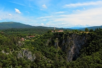 スロベニア シュコツィアン鍾乳洞
