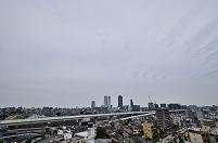 <全国6都市の天気の変化>  名古屋 正午の天気 6月17日
