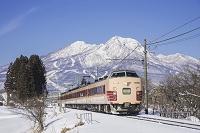 長野県 信越本線と妙高山