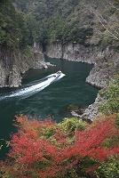 紅葉の瀞峡
