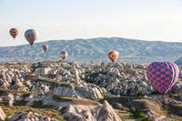トルコ カッパドキアと熱気球