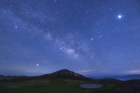 熊本県 草千里と天の川