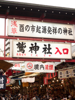 東京都 浅草 酉の市