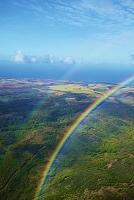 アメリカ合衆国 ハワイ 二重の虹