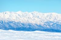 雪と北アルプス