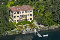 イタリア コモ湖 ヴィラ