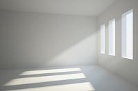 光が差し込む室内 CG