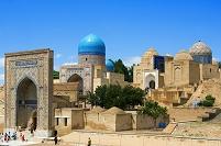 ウズベキスタン サマルカンド シャーヒ・ズィンダ廟群