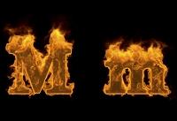 炎のアルファベットM