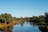 南アフリカ クルーガー国立公園北部 ルブブ川