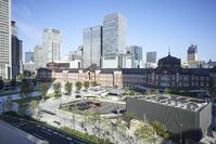 東京駅 駅舎と丸の内駅前広場