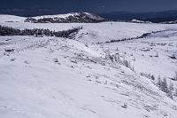 長野県 冬の美ヶ原高原