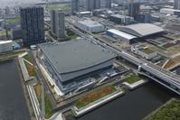 東京都 有明アリーナ 有明体操競技場 建設風景