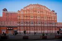 インド ジャイプール ハワー・マハル風の宮殿