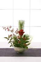 正月のいけ花