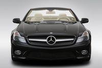 2009 Mercedes-Benz SL-Series SL550 in Black - Low/Wide Front