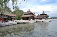 中国 北京 北海公園 五龍亭