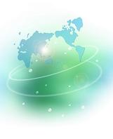 CGイメージ 世界地図