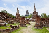 タイ アユタヤ ワット・プラ・マハタート