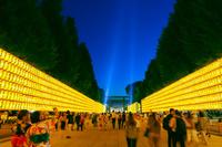 東京都 靖国神社みたままつり 夜景