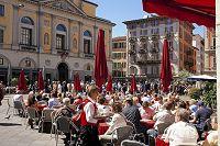スイス ルガーノ旧市街 リフォルマ広場