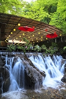 京都府 貴船川と川床
