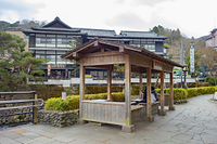 静岡県 修善寺温泉街 河原湯