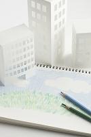家と の芝生   (ペーパークラフト)