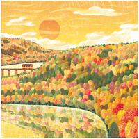 秋のカラーパレット