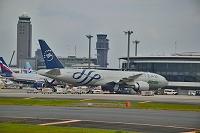成田国際空港 T1 アリタリア B777-200