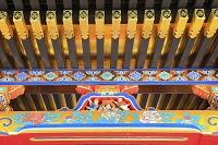 静岡県 久能山東照宮 国宝拝殿の屋根裏彫刻