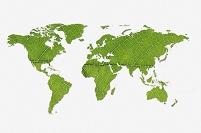 イラスト 葉脈の世界地図