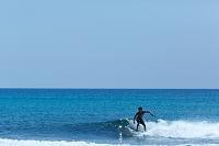 奄美大島 サーファーと海
