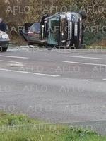 フィリップ殿下、運転中に横転事故