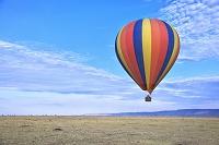 ケニア 気球