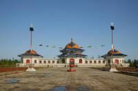 内モンゴル 包頭区ジンギスカン陵