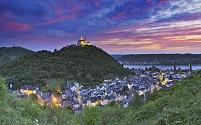 ドイツ マルクスブルク城と街並み