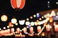 日本 東京都 築地本願寺 盆踊り
