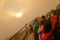 山梨県/静岡県 富士山からのご来光