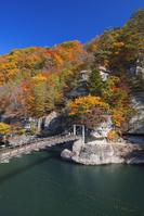 福島県 塔のへつり 藤見橋