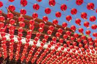 台湾 三鳳宮の提灯