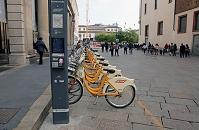 イタリア ミラノ Bikemi 自転車シェアリング