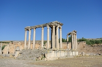 チュニジア ドゥッガ遺跡 カエレスティス神殿