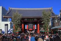 東京都 浅草正月風景